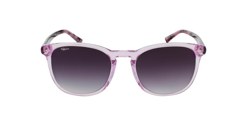 Óculos de sol JACK PK rosa/tartaruga - Vista de frente