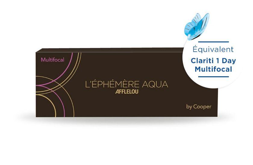 Lentilles de contact Ephémère Aqua Journaliére Multifocal Low 30L - vue de face